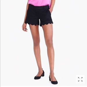 J.Crew Scallop shorts